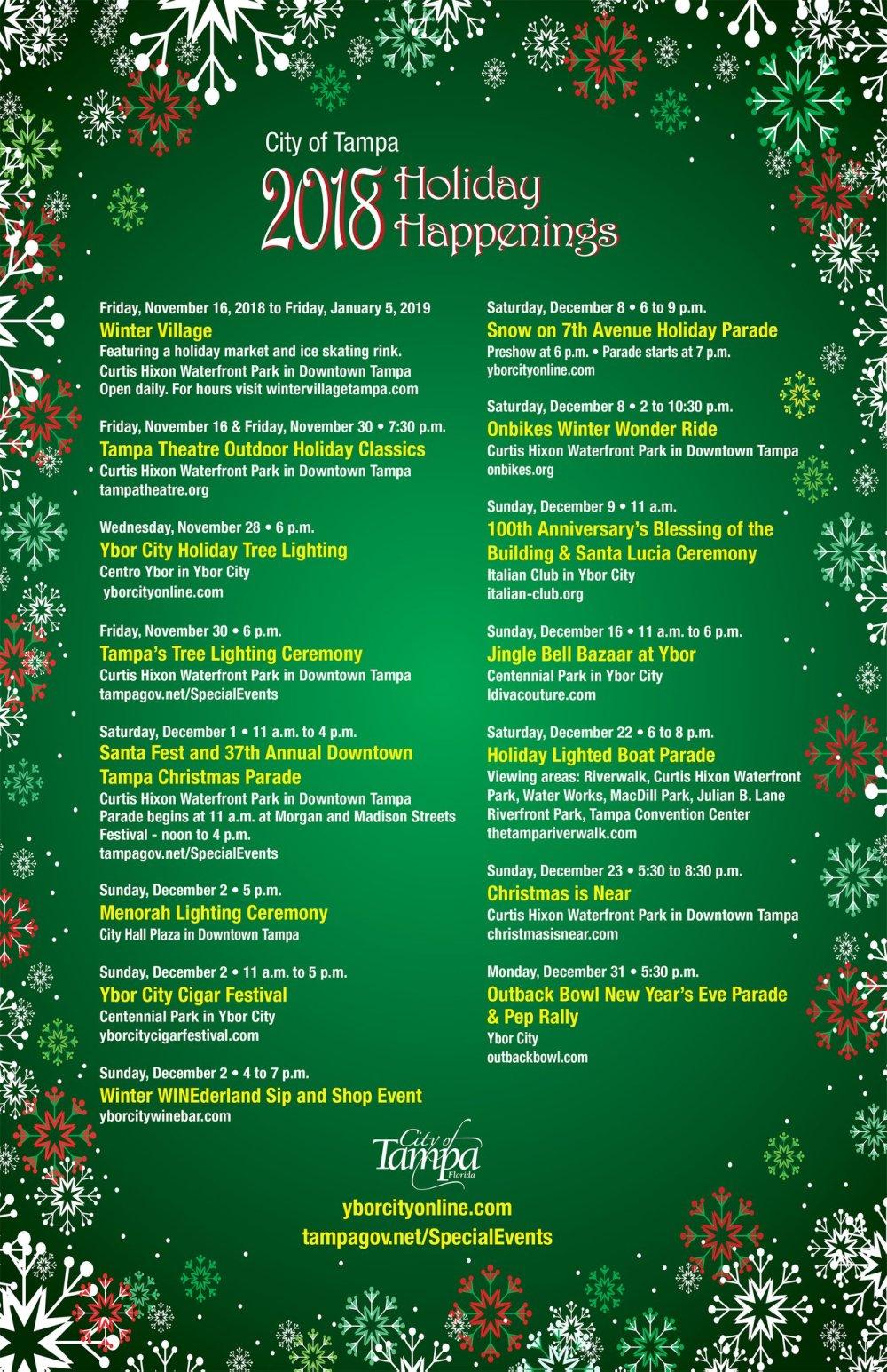 tampa christmas events